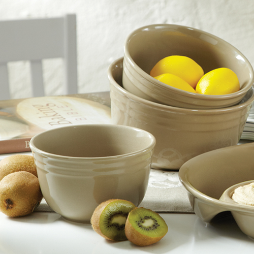Khaki Snack  & Serving Bowls
