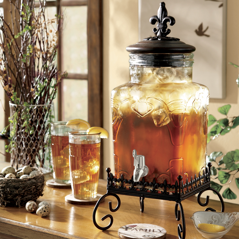 French Market 5-Quart Beverage Dispenser