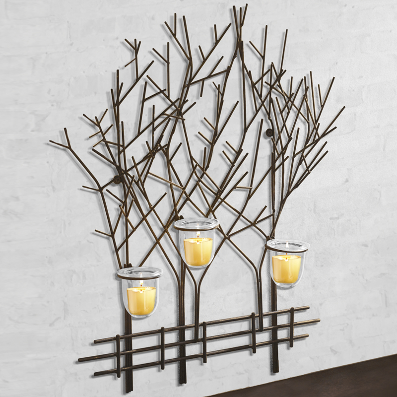 Joshua Tree Triple Tealight Wall Art