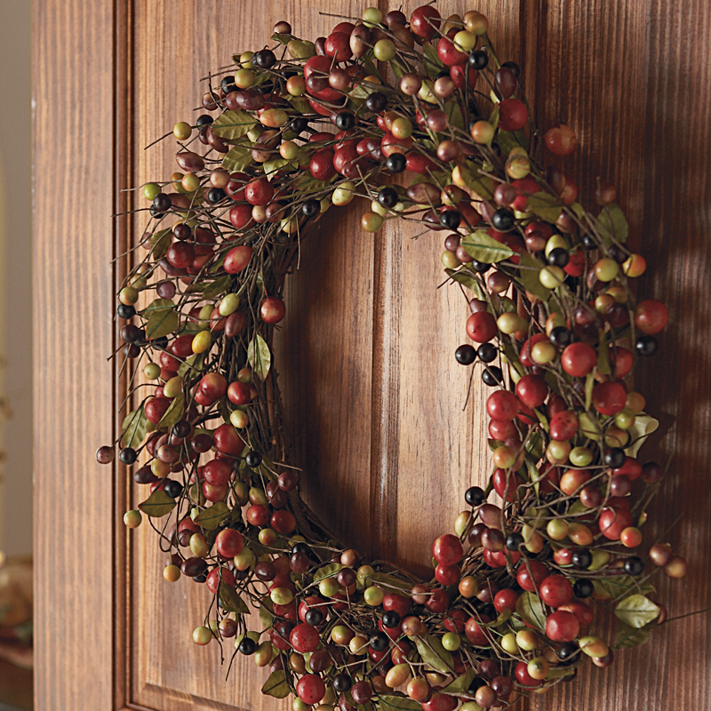 Abundant Berry Wreath