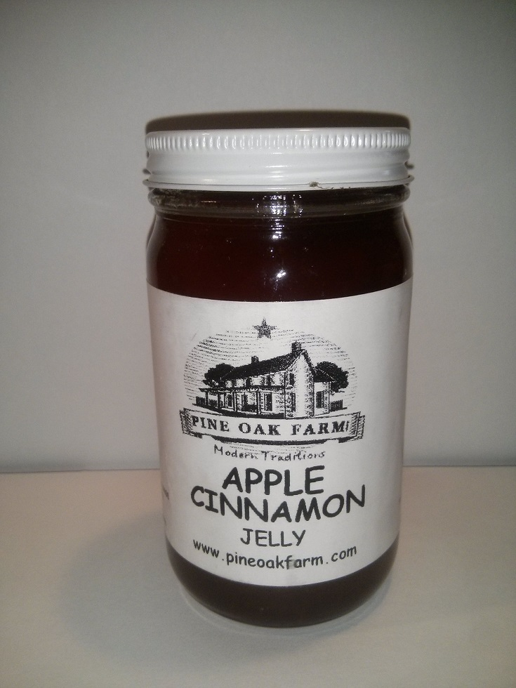 Apple Cinnamon Jelly 9 oz