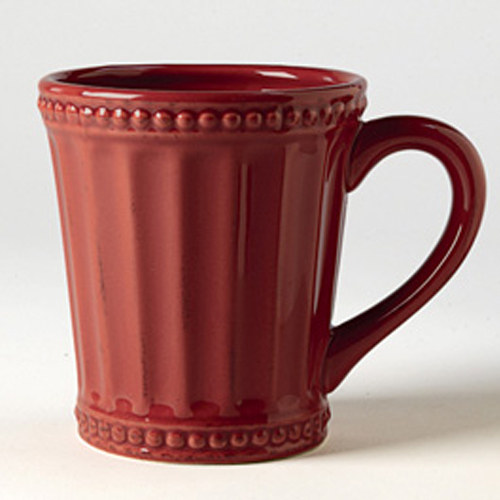 Homestead Dinnerware, Mugs, Red Earth