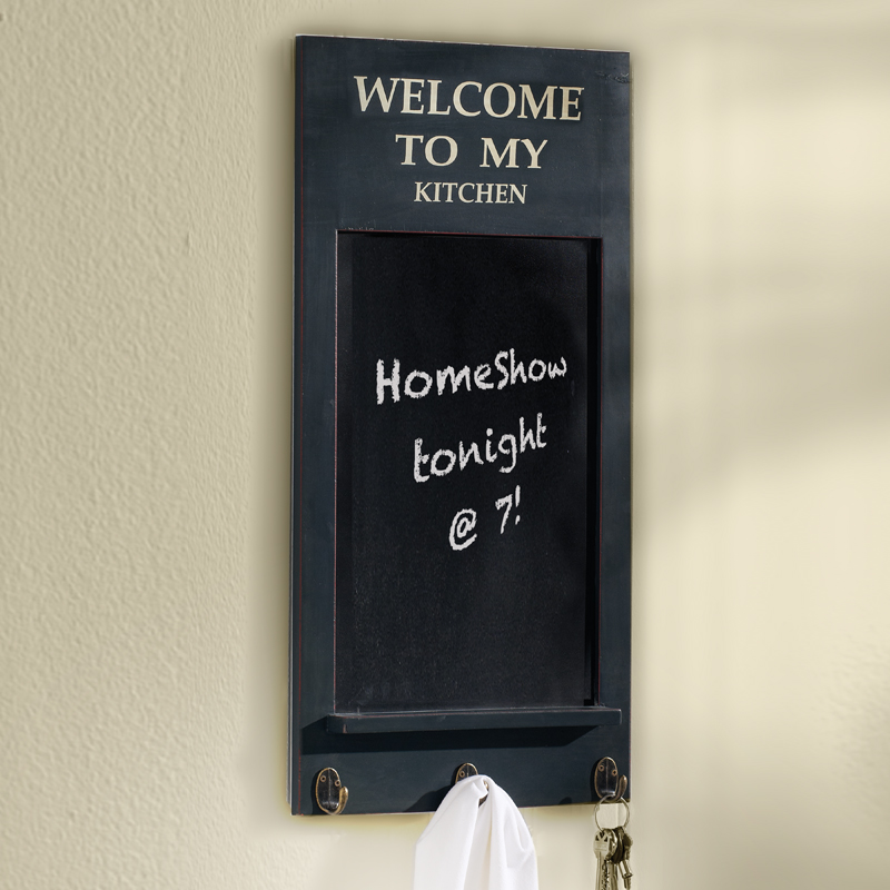 Welcome to My Kitchen Classic Chalkboard, Navy